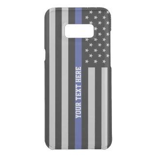 Dünne blaue Linie - amerikanische Get Uncommon Samsung Galaxy S8 Plus Hülle