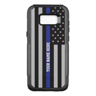 Dünne blaue Linie - amerikanische OtterBox Commuter Samsung Galaxy S8+ Hülle