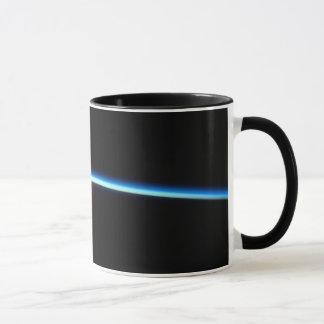 Dünne blaue Linie Keramik-Tasse Tasse