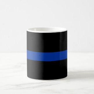 dünne blaue Linie Polizeigesetz Kaffeetasse