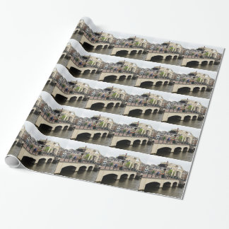 Dünne Brücke, Amsterdam, Holland Geschenkpapier