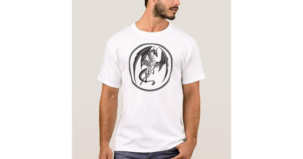 Dünne Drachen… T-Shirt | Zazzle.de