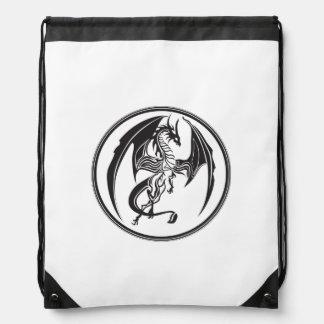 Dünne Drachen… Turnbeutel