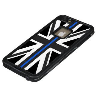 Dünne Flagge Blue Lines Großbritannien LifeProof FRÄ' iPhone 6/6s Plus Hülle
