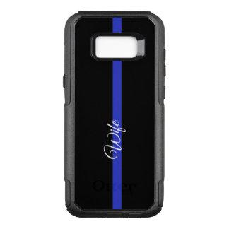 Dünne Galaxie S8 CAs Blue Lines Otterbox Samsung OtterBox Commuter Samsung Galaxy S8+ Hülle