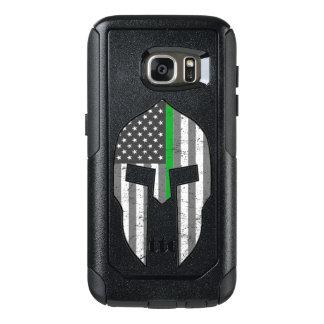 Dünne Grenze-amerikanisches spartanisches OtterBox Samsung Galaxy S7 Hülle