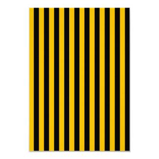Dünne Streifen - Schwarzes und Bernstein Karte