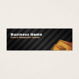 Dünne Visitenkarten Property Management Company