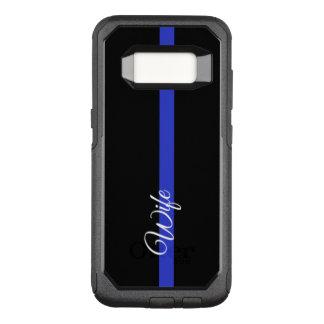 Dünner Kasten Blue Lines OtterBox Samsung OtterBox Commuter Samsung Galaxy S8 Hülle