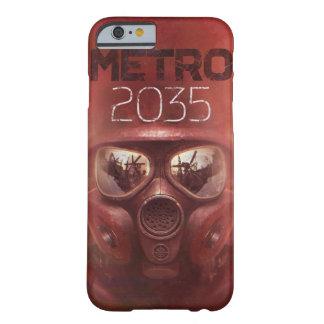 Dünner Kasten der Metro-2035 für Iphone 6/6s Barely There iPhone 6 Hülle