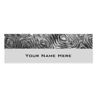 Dünnes Grau der flüssigen Druck-Visitenkarte Mini-Visitenkarten