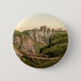 Dunottar Schloss, Stonehaven, Schottland Runder Button 5,1 Cm