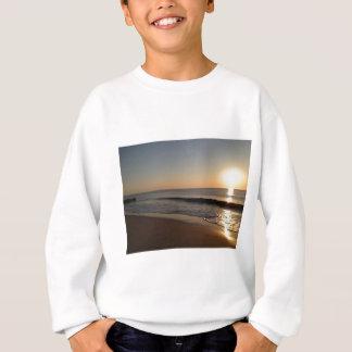 Dunstiger Sonnenaufgang Sweatshirt