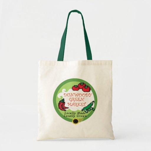 Dunwoody grüner Markt Einkaufstaschen