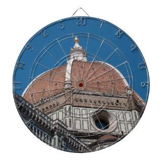 Duomo in Florenz Italien Dartscheibe