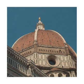Duomo in Florenz Italien Holzdruck