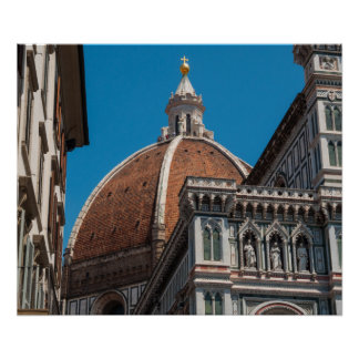 Duomo in Florenz Italien Poster