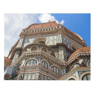 Duomo, in Florenz, Toskana, Italien Notizblock