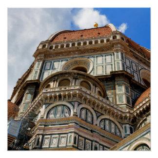 Duomo, in Florenz, Toskana, Italien Poster