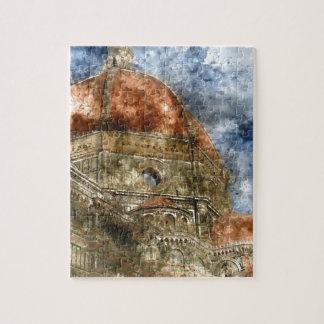 Duomo Santa Maria Del Fiore und Glockenturm Puzzle