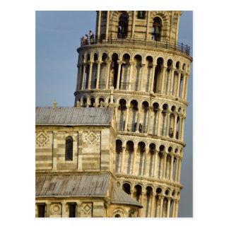Duomo und lehnender Turm, Pisa, Toskana, Italien Postkarte