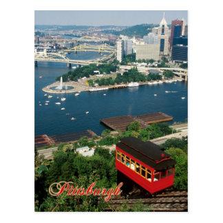 Duquesne Neigung, Pittsburgh, Pennsylvania Postkarte