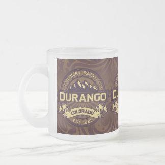 Durango-TasseSepia Mattglastasse