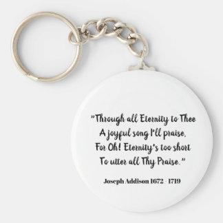 Durch alle Ewigkeit zu Thee (Liebeerklärung) Schlüsselanhänger