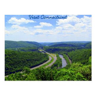 Durch das Connecticut-Tal Postkarte