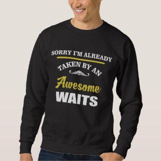 Durch fantastische WARTEZEITEN genommen. Sweatshirt