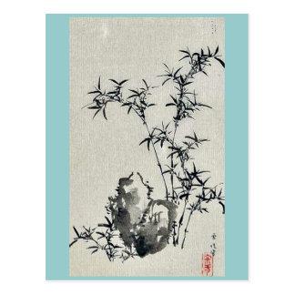 durch Hasegawa Settei Ukiyo-e. Postkarte