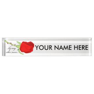 Durch irgendein anderes Namens-Namensschild