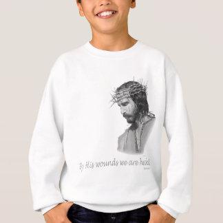 Durch seine Wunde werden wir geheilt Sweatshirt
