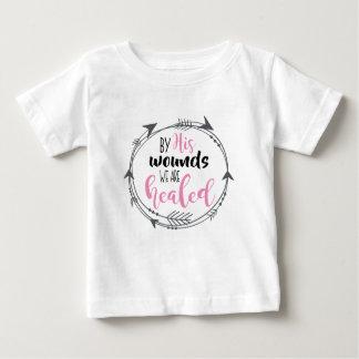 Durch seine Wunden werden wir geheilt Baby T-shirt