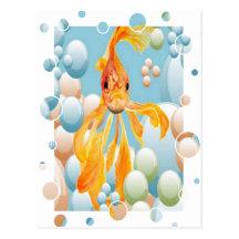 Durchbrennenblasen Postkarten