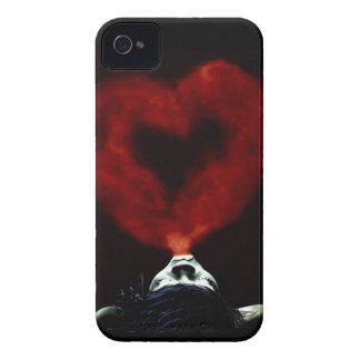 Durchbrennenrauchherz der Frau iPhone 4 Cover