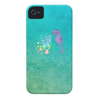 Durchbrennenregenbogenblasen des Seepferds im iPhone 4 Hülle