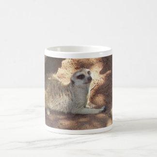 Durchdachtes Meerkat Kaffeetasse