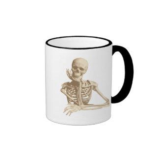 Durchdachtes Skelett Kaffee Haferl
