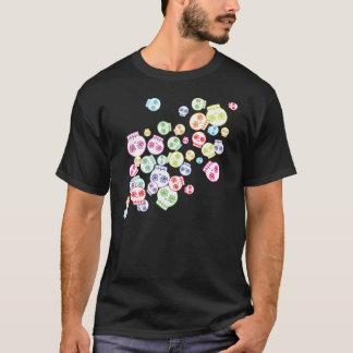 Durcheinander der Zuckerschädel T-Shirt