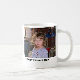 durcheinander gebrachter, glücklicher Vatertag! Kaffeetasse