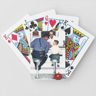 Durchgehen Spielkarten