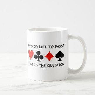 Durchlauf oder nicht zum Durchlauf, der ist die Tasse