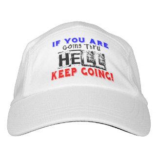 Durchlaufen Hölle - laufend Headsweats Kappe