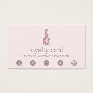 Durchschlags-Kunden-Loyalitäts-Karte des Visitenkarte