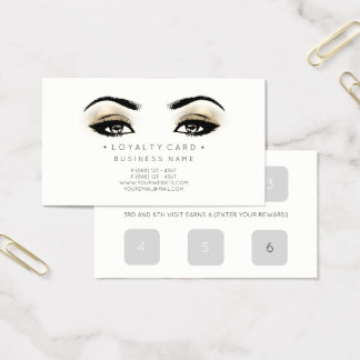 Durchschlags-Kunden-Schönheits-Salon-Imitat der Visitenkarte