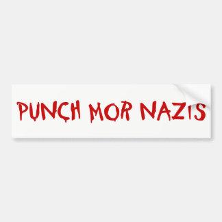 Durchschlags-MOR-Nazis Autoaufkleber