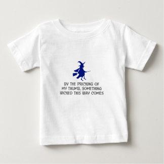 Durchstechen meines Daumen-Halloween-Entwurfs Baby T-shirt