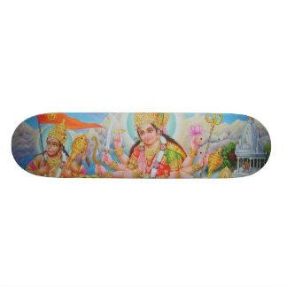 durga_hanuman_skanda skateboardbretter