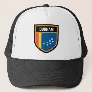 Durham-Flagge Truckerkappe